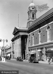 The Town Hall c.1955, Peterborough
