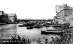 Peterborough, Town Bridge 1904