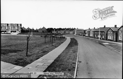 Peterlee, Manor Way c.1960