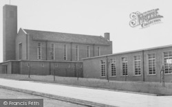 Peterlee, Methodist Church c.1960