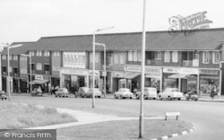 Peterlee, Shopping Parade c.1960