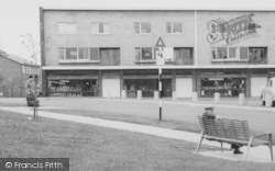 Peterlee, Shops In York Road c.1960