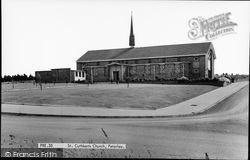 Peterlee, St Cuthbert's Church c.1960