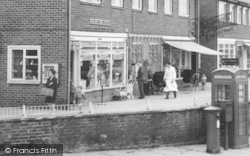 Peterlee, Yoden Road Shops c.1960