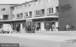 Peterlee, York Road Shopping Centre c.1960