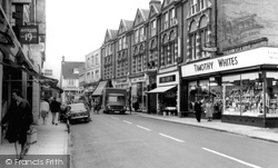 Chapel Street c.1965, Petersfield
