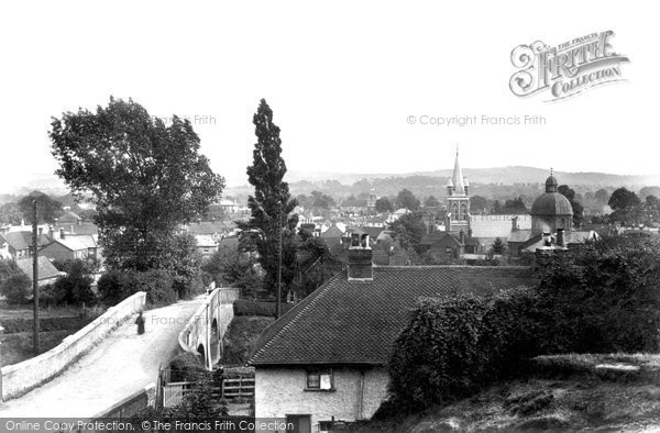 Petersfield, from Tilmore 1906