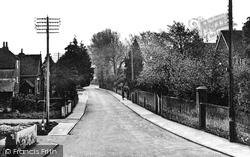 Heath Road c.1955, Petersfield