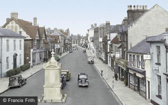 Petersfield, High Street c1955
