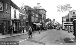 High Street c.1965, Petersfield