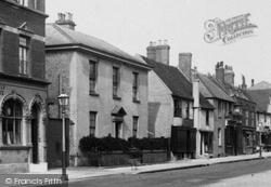 High Street, Clare Cross 1898, Petersfield