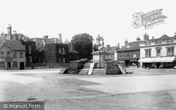Market Square 1898, Petersfield
