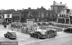 Market Square c.1950, Petersfield