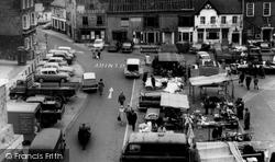 Market Square c.1965, Petersfield