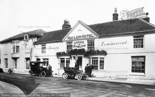 Petersfield, Red Lion Hotel 1906
