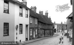 Sheep Street c.1965, Petersfield