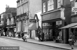 Shops In The High Street c.1965, Petersfield
