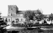 Petersfield, St Peter's Church 1898