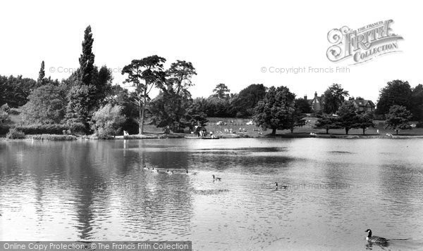 Petersfield, the Lake c1955