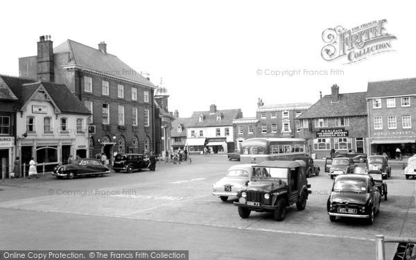 Petersfield, the Market Place c1958