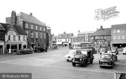 The Market Place c.1958, Petersfield