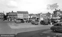 The Square c.1955, Petersfield