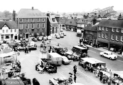 The Square c.1965, Petersfield