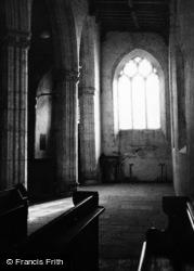 Peterstone Wentlooge, The Church Interior 1949