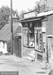 Petham, General Stores, The Street c.1955