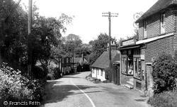 Petham, The Street c.1955