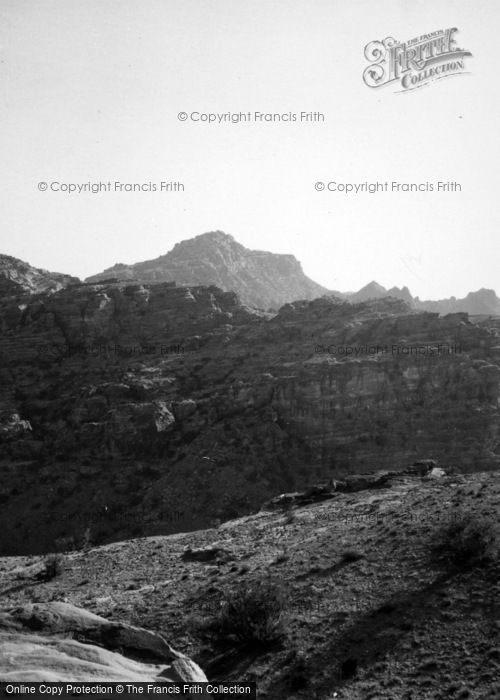 Photo of Petra, From Near The Deir 1965