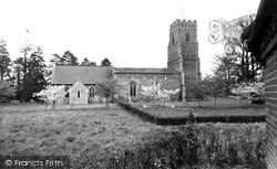 Pettistree, St Peter And St Paul's Church 1959
