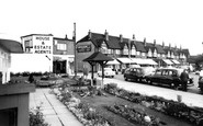 Petts Wood, Station Square c1960