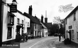 Petworth, Angel Street c.1955