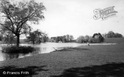 Petworth, Petworth House, The Lake c.1960