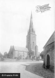 Petworth, St Mary's Church 1898