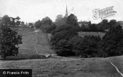 Petworth, St Mary's Church And Rectory 1912