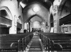 Petworth, St Mary's Church Interior 1898