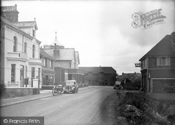 Pevensey Bay, Bay Hotel And Post Office 1947