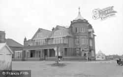 Pevensey Bay, Bay Hotel c.1951