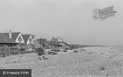 Pevensey Bay, Beach Bungalows 1949