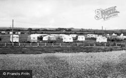 Pevensey Bay, Caravan Camp, Norman's Bay c.1960
