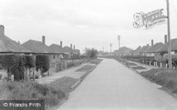 Pevensey Bay, Castle Drive c.1951