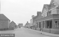Pevensey Bay, Eastbourne Road And The Bay Hotel c.1951