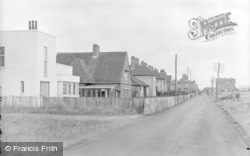 Pevensey Bay, Eastbourne Road c.1947