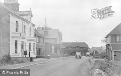 Pevensey Bay, Post Office Road c.1947