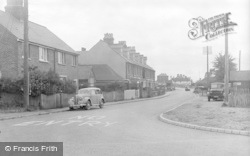 Pevensey Bay, Richmond Terrace c.1947