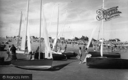 Pevensey Bay, Sailing Days c.1960