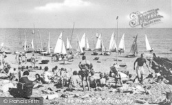 Pevensey Bay, The Beach c.1960