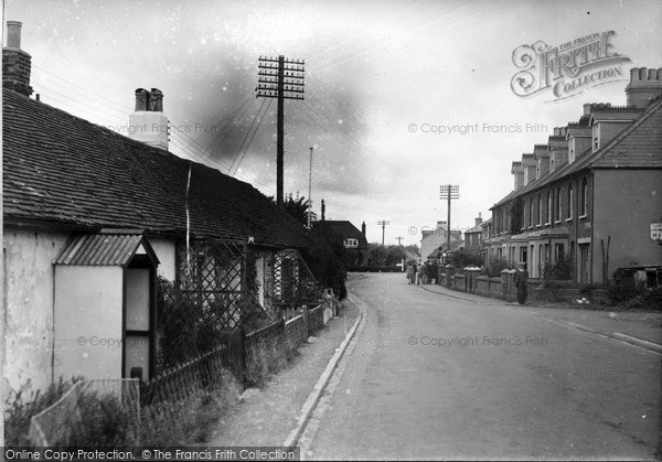 Photo of Pevensey Bay, The Cabin And Village 1947